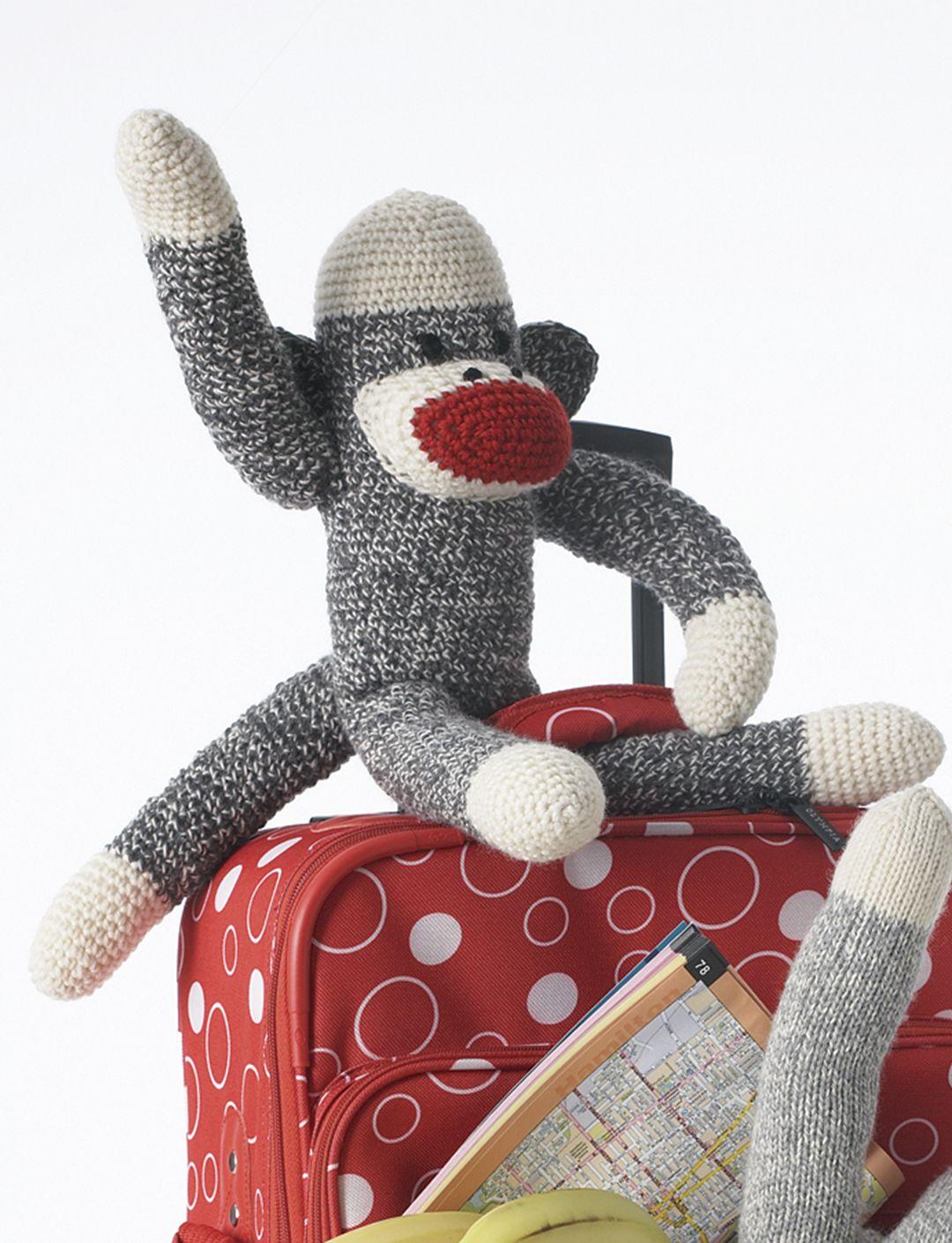 Basic Crochet Sock Monkey | Yarn | Free Knitting Patterns | Crochet ...