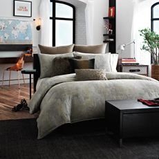 Kenneth Cole Reaction Home Mason Duvet Cover 100 Cotton Bed