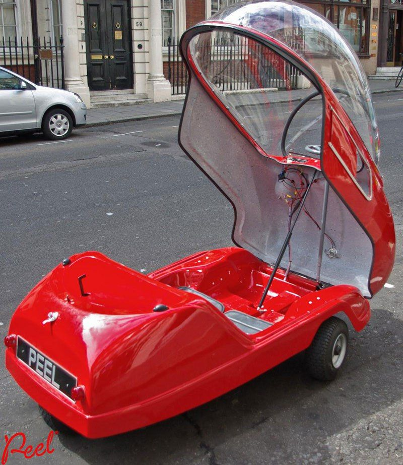 Built in 1962, the Worlds Smallest Car has One Door, One Headlight ...
