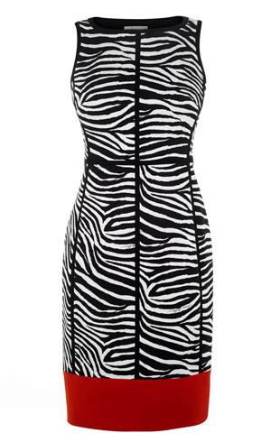 73950577fb6d Karen Millen, Zebra Print Pencil Dress | style | Karen millen ...
