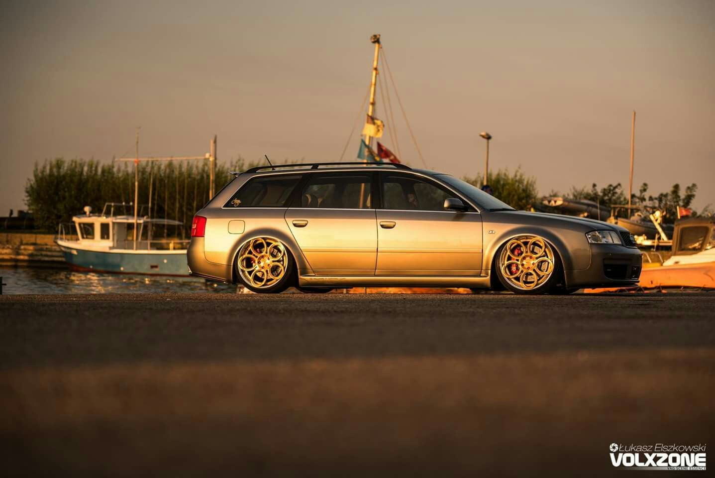 Audi Rs6 C5 Avant With Rad48 Wheels Rs6 Allroad C5