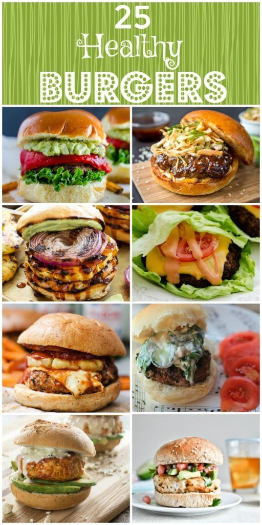 Healthy Burgers - 25 Fabulous Recipes images