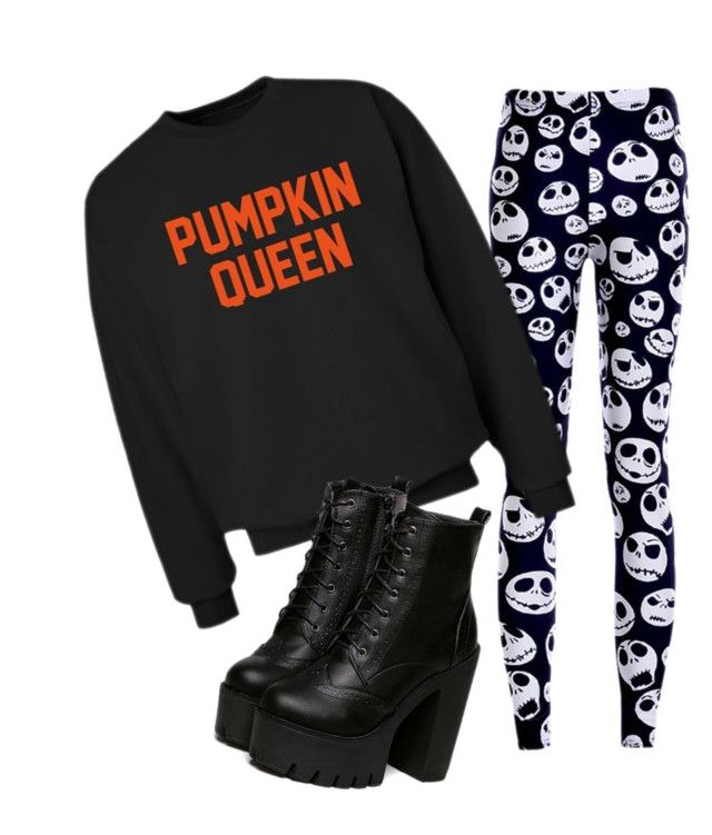 """Jack Skellington"" by nuggetbugs ❤ liked on Polyvore featuring CO"