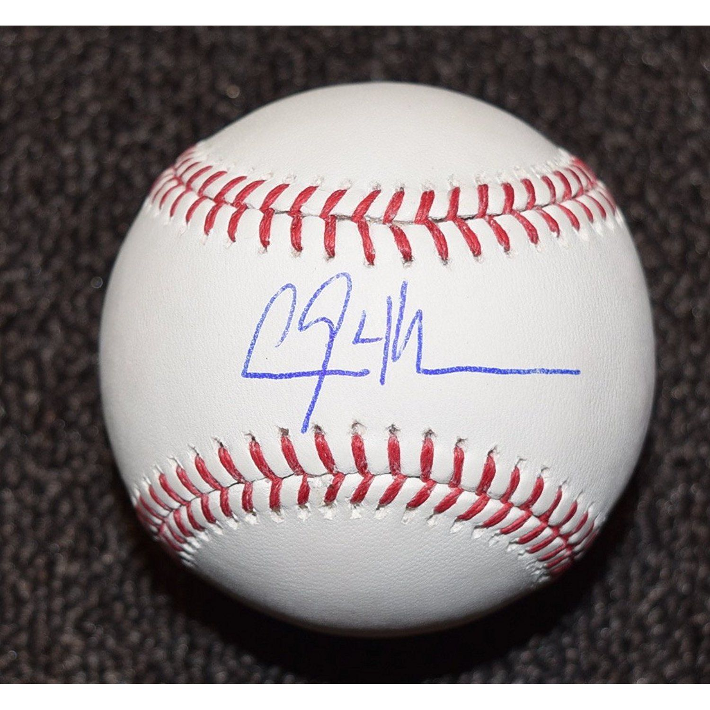 Clayton Kershaw Baseball Signed Autographed Mlb Major League Baseball Coa Check Out This Great Product Autographed Baseballs Baseball Signs Baseball