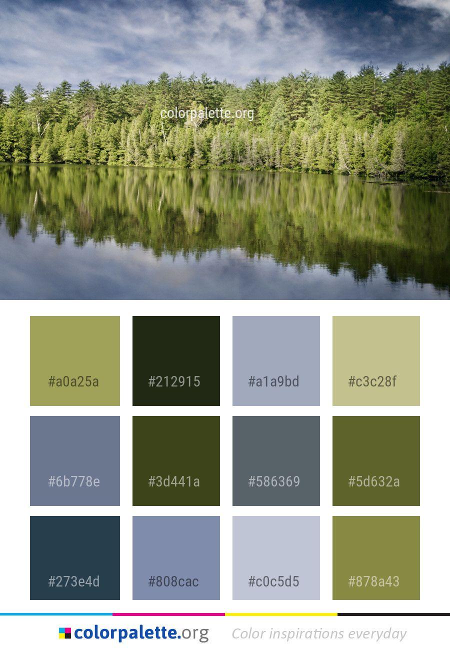 reflection water nature color palette color palettes nature rh pinterest com