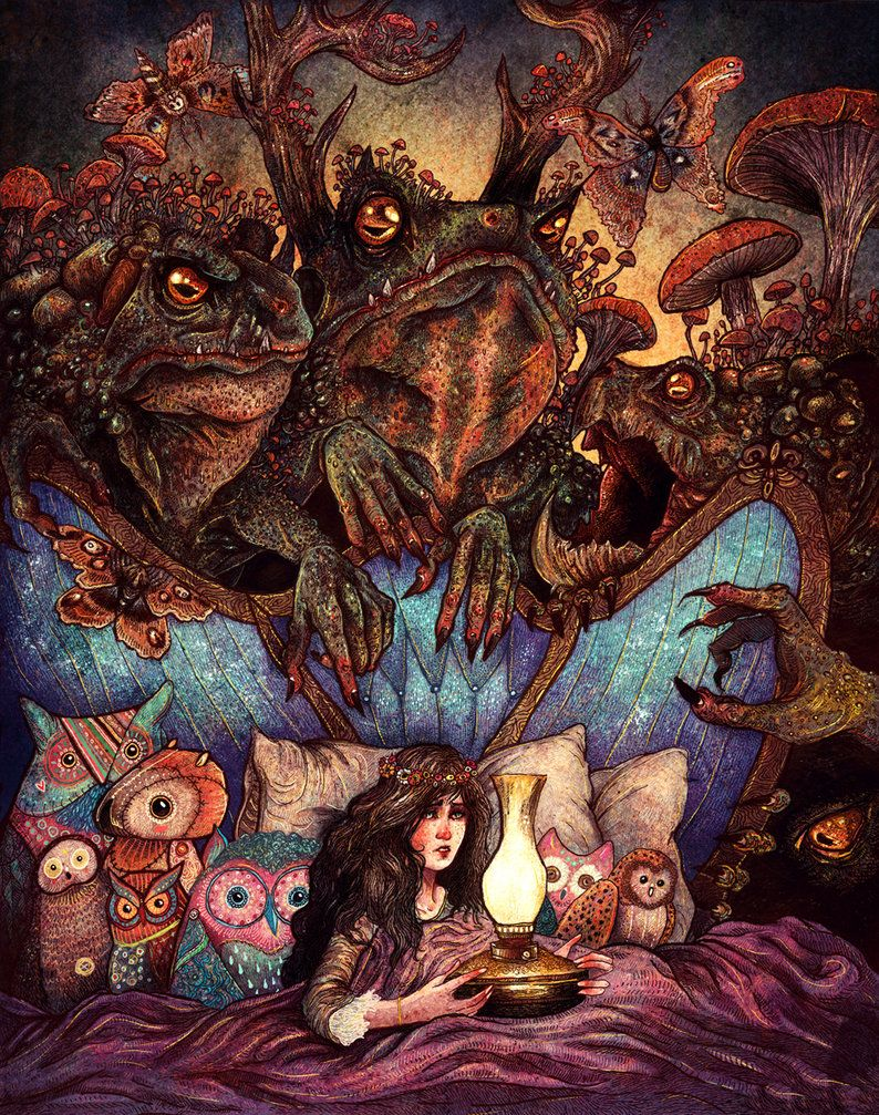The Owl Princess And Her Night Terrors by *AngelaRizza on deviantART