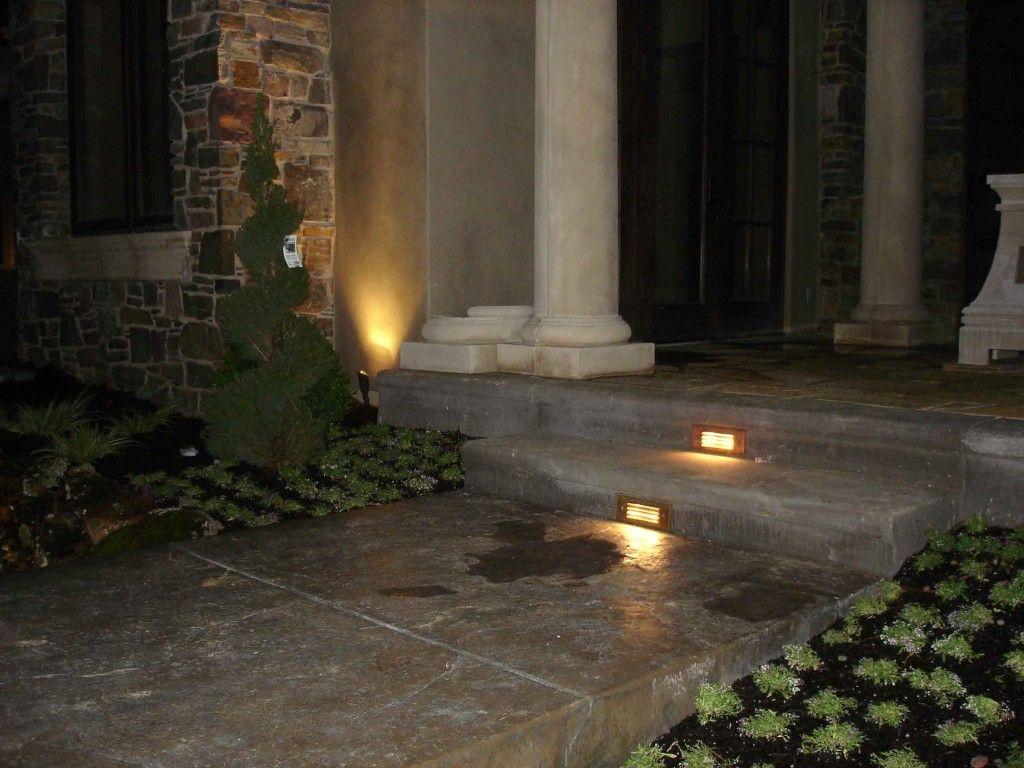 Innovative Garden Step Lighting Ideas