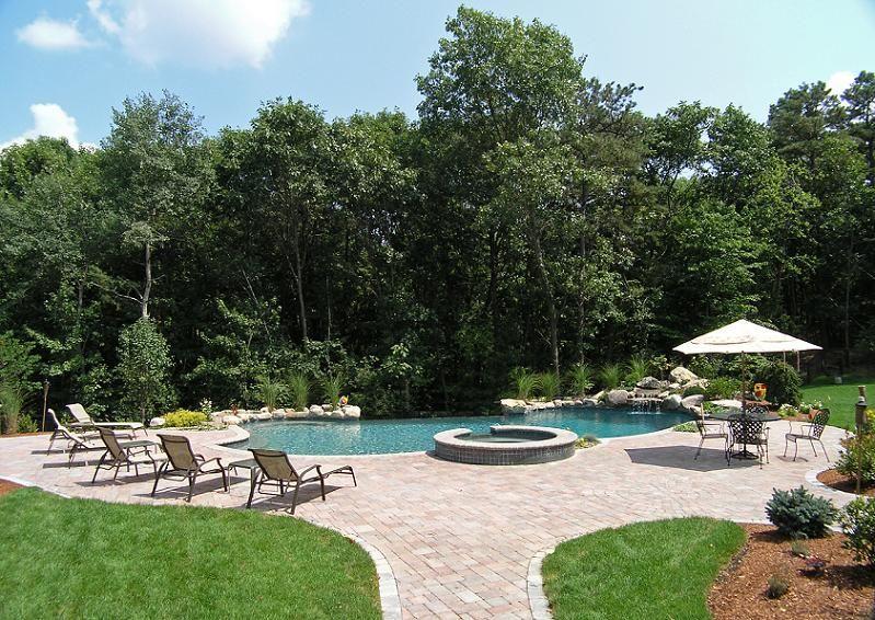 Gallery Westborough Ma Swimming Pool Aquascape Pool Designs Landscape Design Landscape Pool Designs