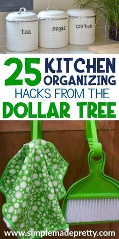 Smart Dollar Tree Kitchen Organization Hacks