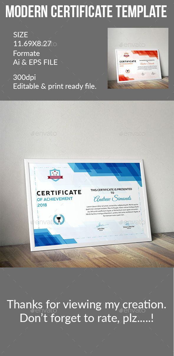 Certificate certificate certificate design and adobe illustrator yadclub Gallery