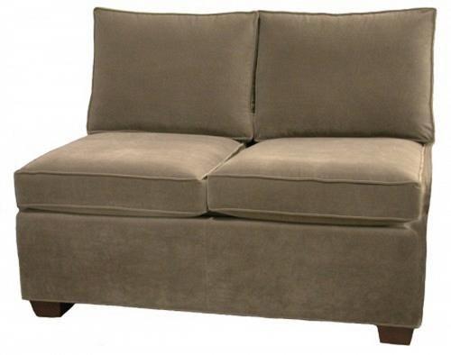 Fabulous Crawford Sectional Armless Twin Sleeper Sofa Carolina Chair Machost Co Dining Chair Design Ideas Machostcouk