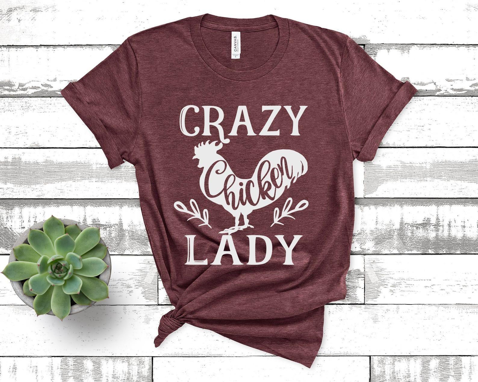 Crazy Chicken Lady svg Chicken svg png dxf eps design file   Etsy