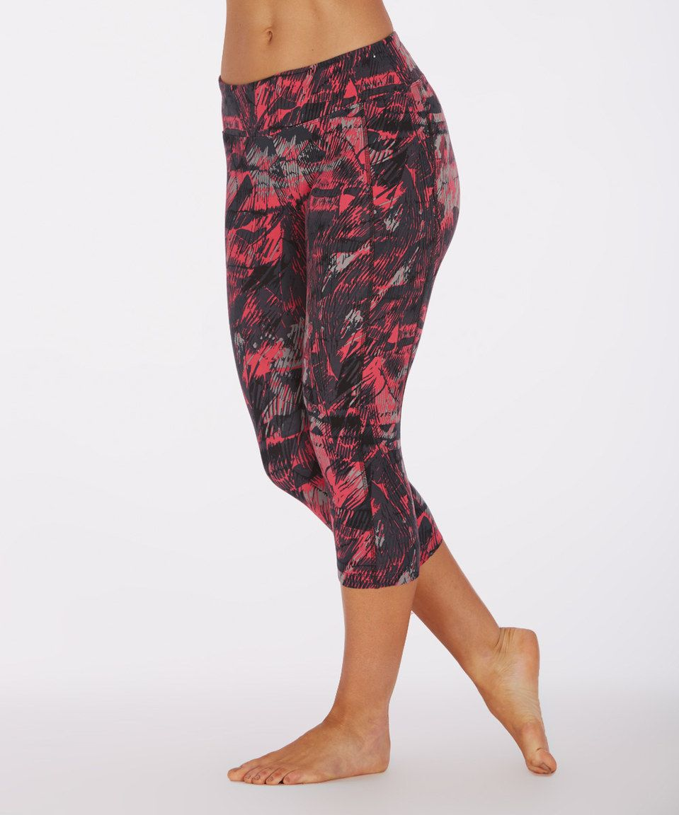 fadc85530e946 Another great find on #zulily! Marika Shape Rose Red Carrie Slimming Capri  Leggings by Marika Shape #zulilyfinds