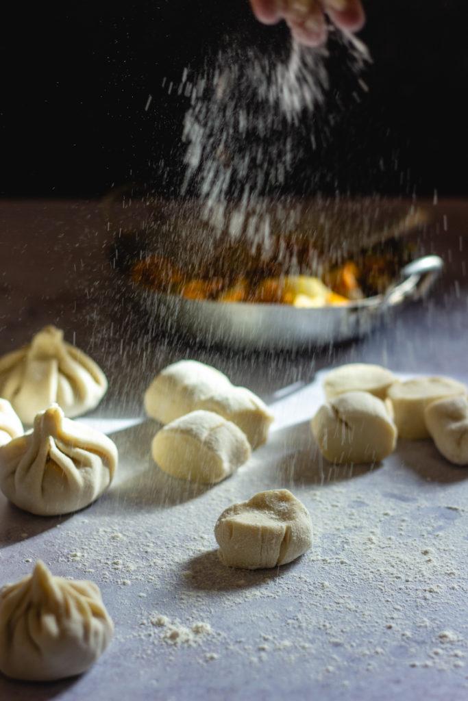 Dumplings vegan pour le nouvel an chinois