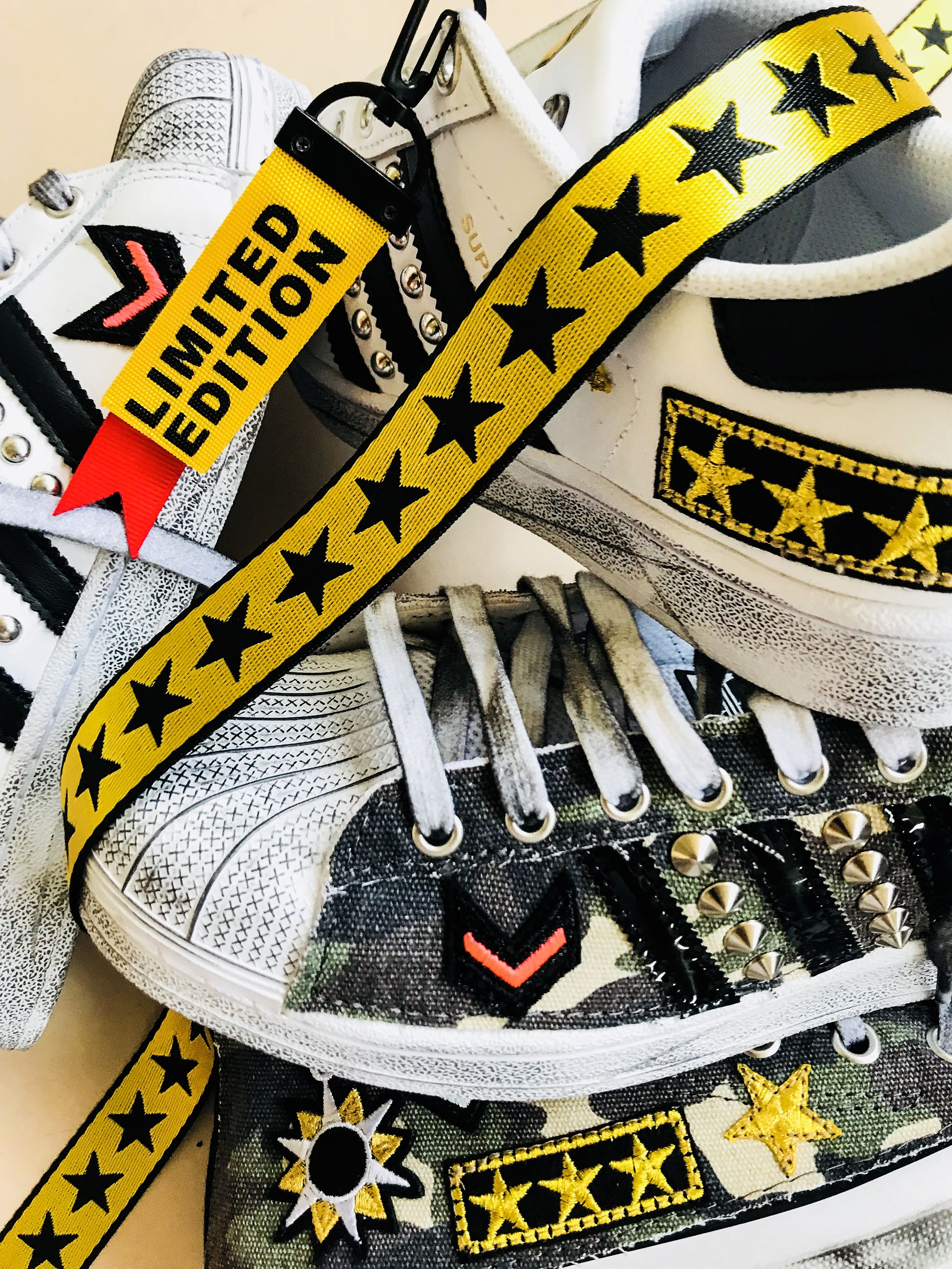Adidas LIMITED EDITION Custom by Muffin #customsneakers