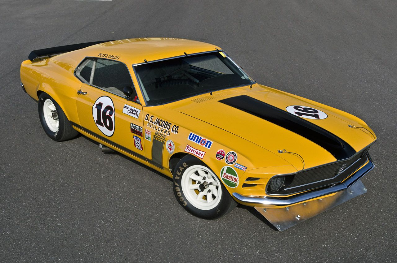 The Boss 302 vinyl badges add to the trademark style of the old ...