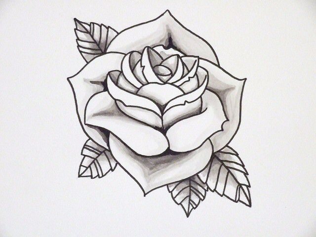 Pin By Laurie Carver On Tattoo Dreams Rose Outline Tattoo Simple Rose Tattoo Tattoo Outline