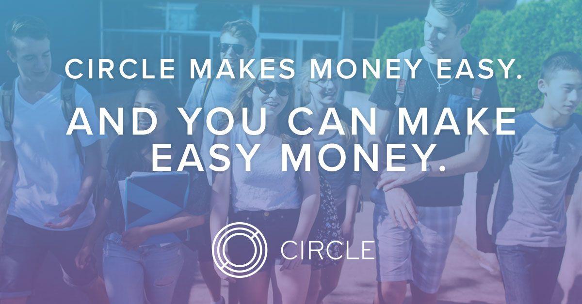 Easy sidehustle refer the circle app for feefree money