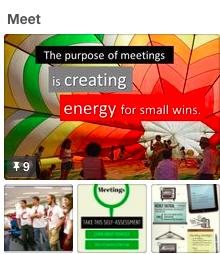 My best practice board on meetings