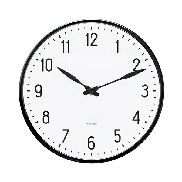 Arne Jacobsen Aj Station Wall Clock 21 Cm Arne Jacobsen Clock Wall Clock Clock