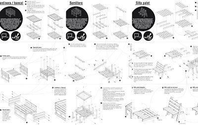 Plusieurs plans pour construire une jardini re une graine et une chaise avec des palettes - Construire des meubles avec des palettes ...