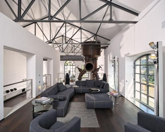 loft design industriel | À mon goût ! | Pinterest | Lofts, Loft ...
