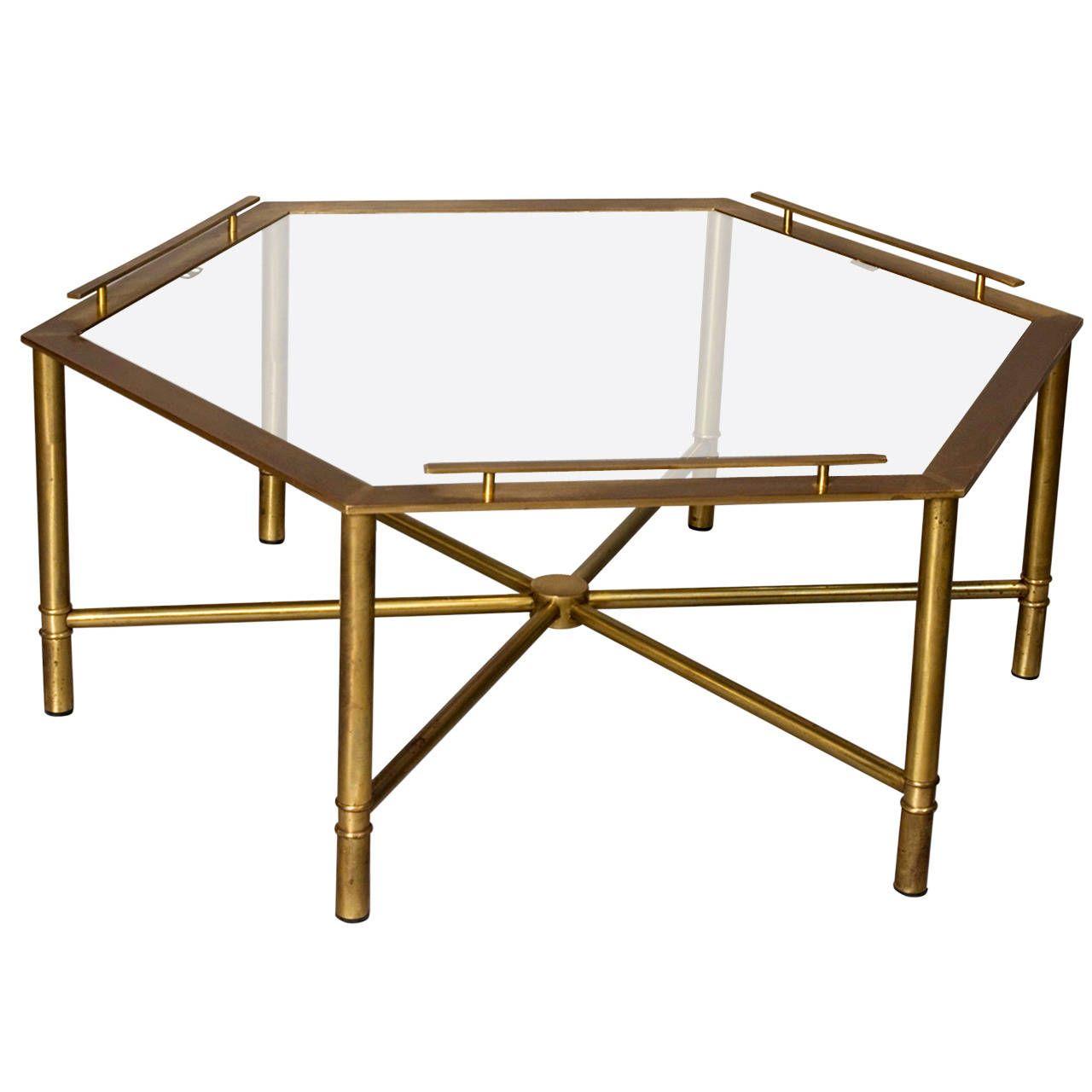 Bronze Hex Coffee Table By Mastercraft 1stdibs Com Hexagon Coffee Table Coffee Table Coffee Table Vintage [ 1280 x 1280 Pixel ]