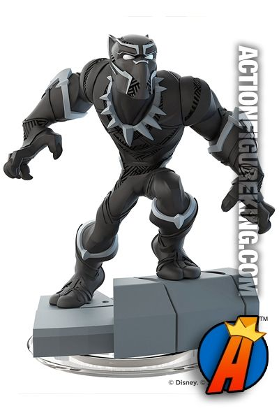 Marvel Super Heroes Avengers Black Panther Gamepiece For Disney