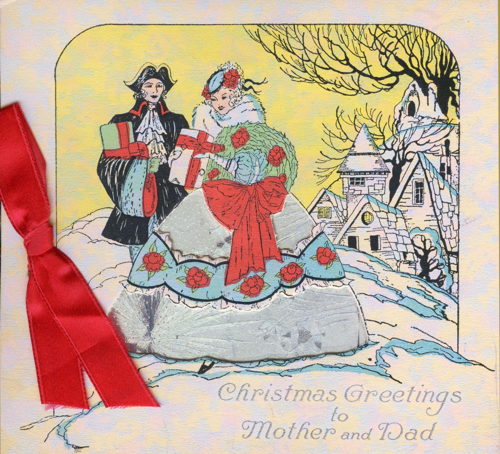 Create A Feeling Of Nostalgia: 19 Vintage Christmas Cards That Make Us Feel Nostalgic