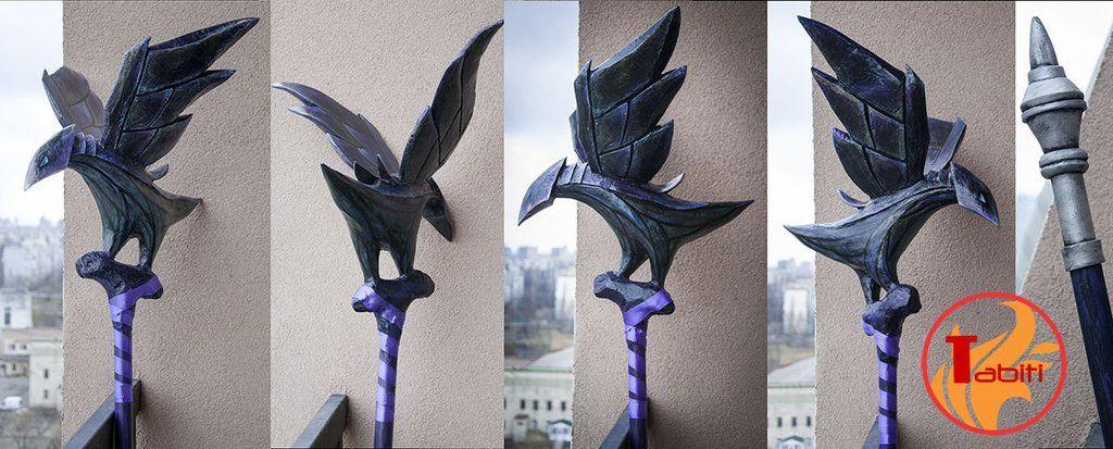 Ravenborn LeBlanc, League of Legends by TabitiProps