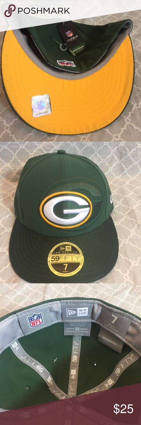 054421fa Green Bay Packers New Era NFL 59FIFTY Fitted Cap NWT New Era 59Fifty ...
