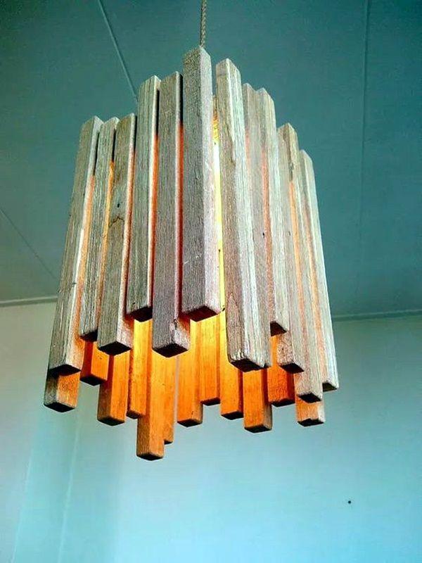 40 Beautiful Wooden Lamp Designs Home Wood Light Fixture