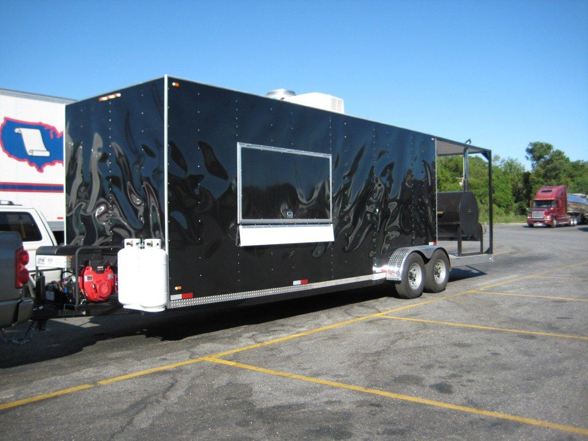 Custom food trailer for sale 60k florida