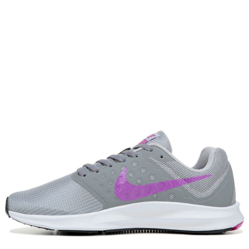 Nike Women s Downshifter 7 Running Shoes (Grey Violet ... b30a68e772