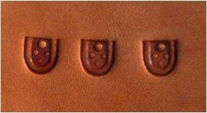u-style design stamps|welker handmade leather stamps
