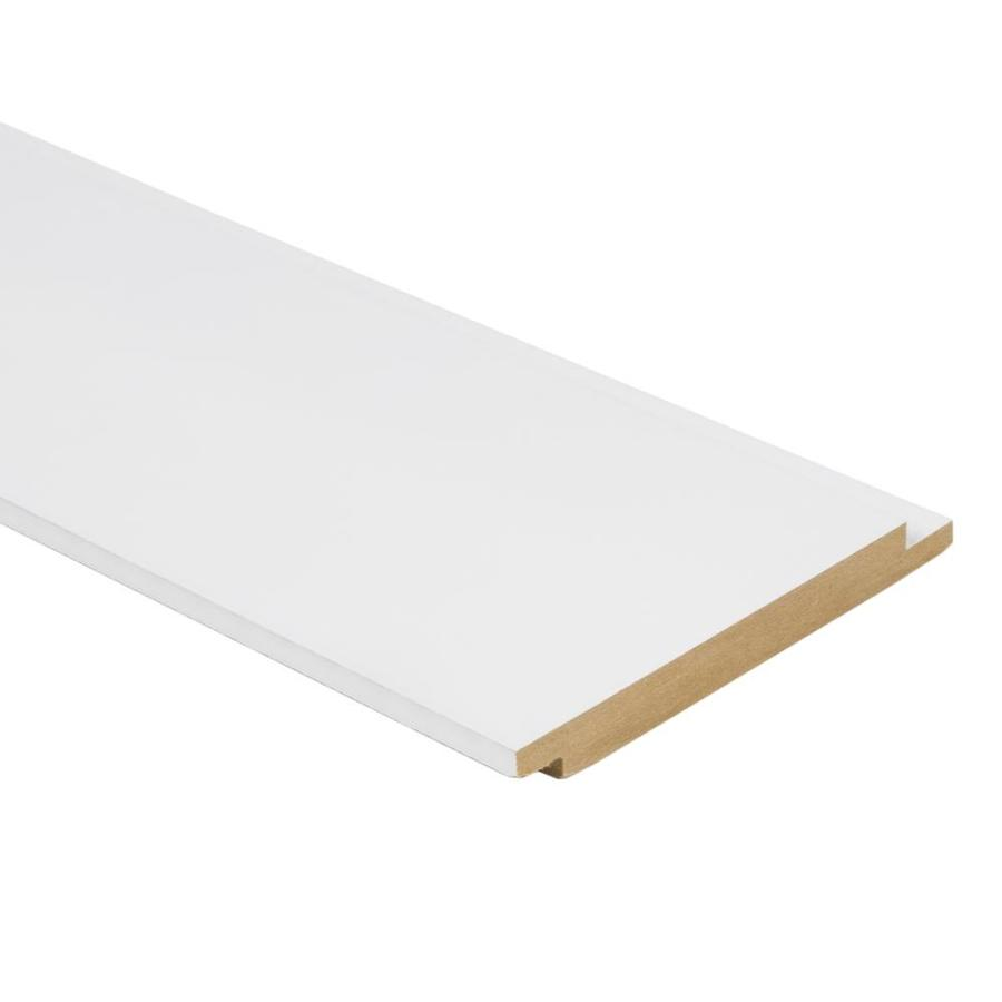 Shiplap Mdf Actual 0 551 In X 5 25 In X 12 Ft Lowes Com Shiplap White Shiplap Wall Treatments