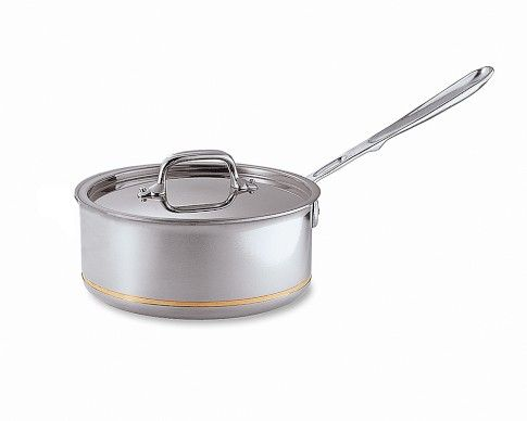 All Clad Copper Core Saucepan 2 Qt All Clad Saucepan Stainless Steel Cleaning
