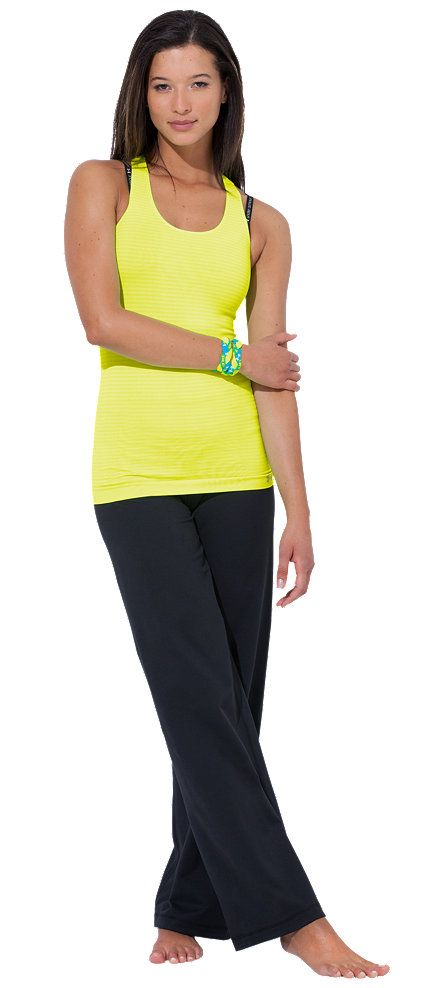 UA StudioLux® Quattro Flow - Slim up top. Soft and flowy at the bottom. This outfit strikes the perfect balance between sporty and sweet.
