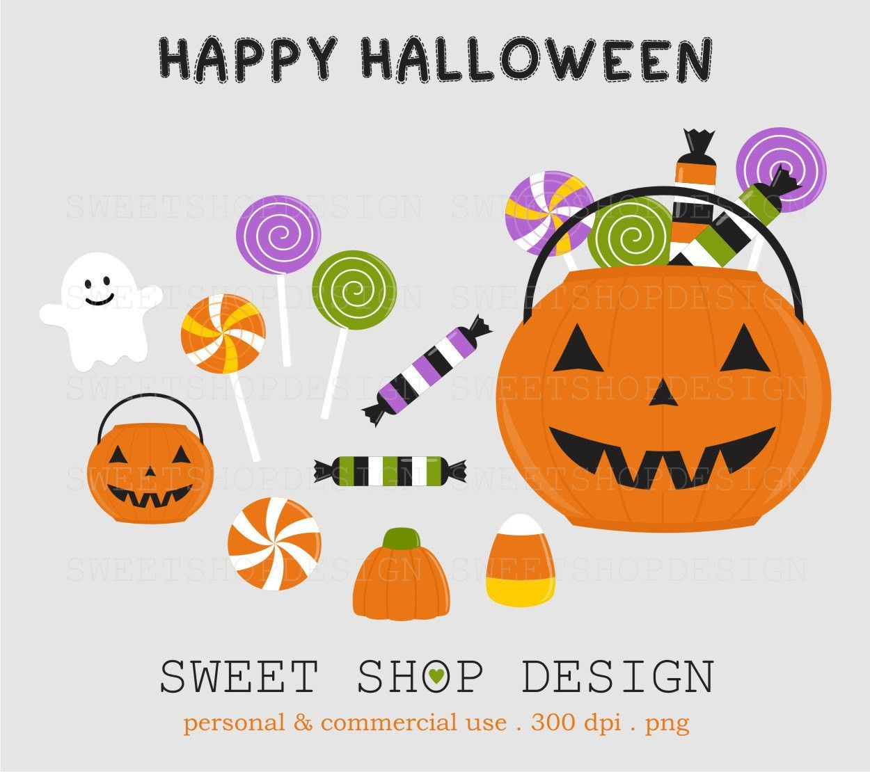 Happy Halloween Clip Art 2014