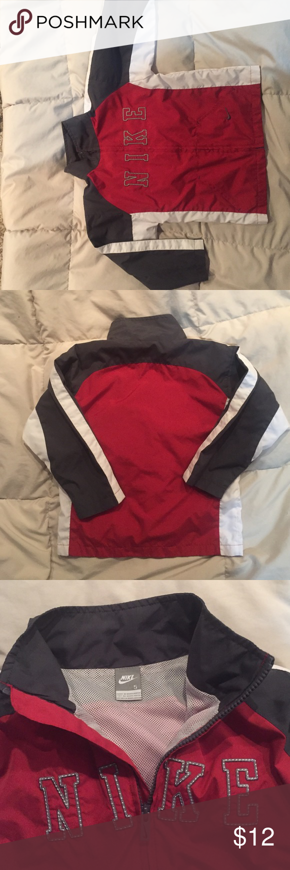 💙Nike size 5 lightweight jacket Lightweight Nike jacket size 5.  Like new. Nike Jackets & Coats