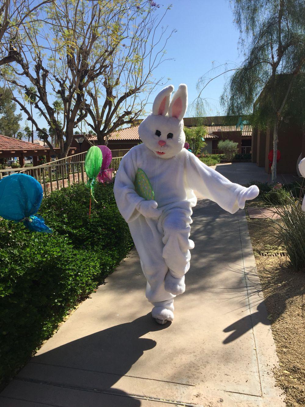 Bunny heisman pose... Happy Easter