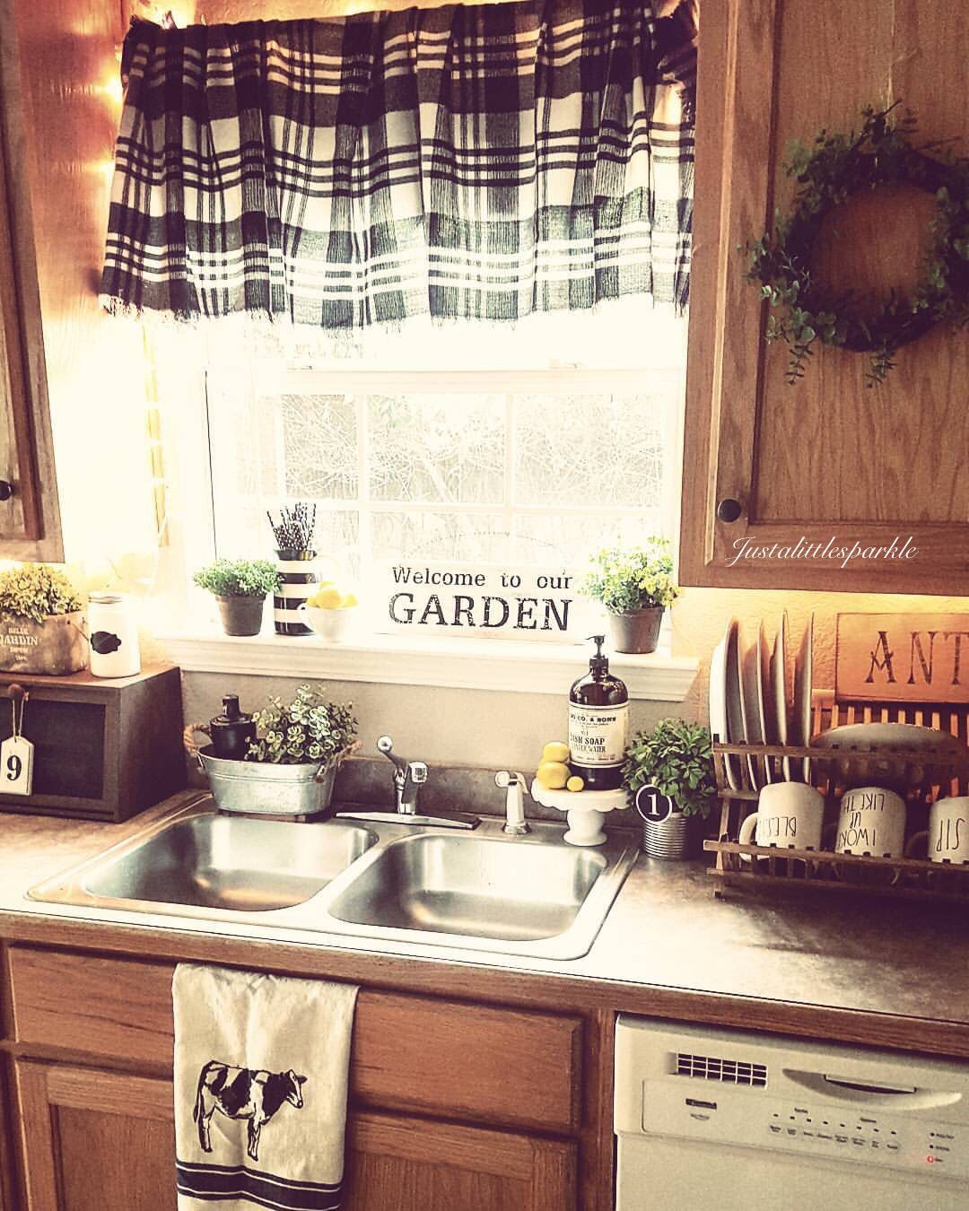 Ideas For Kitchen With Oak Cabinets: Farmhouse Kitchen Ideas, Farmhouse Kitchen Decor, Oak