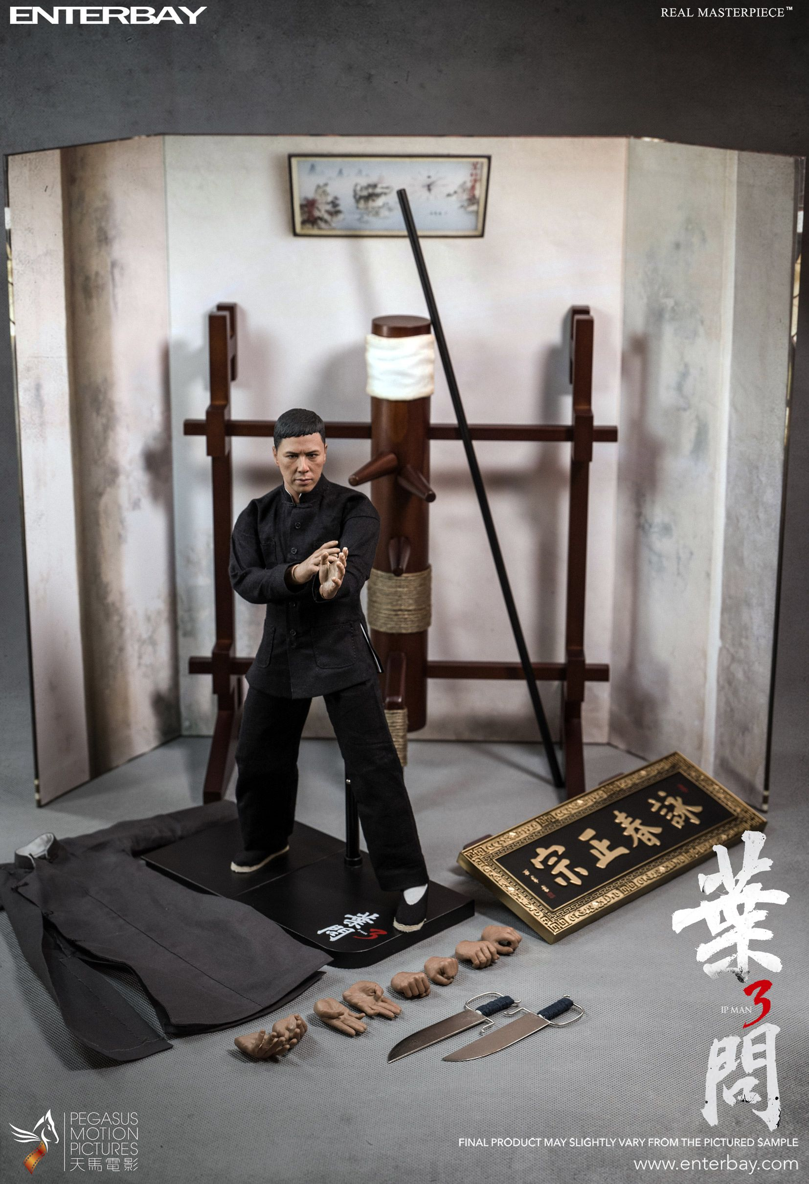 Celebrated Kung Fu Master Of Bruce Lee Becomes A Martial Arts Masterpiece Ip Man Ip Man 3 Action Figures