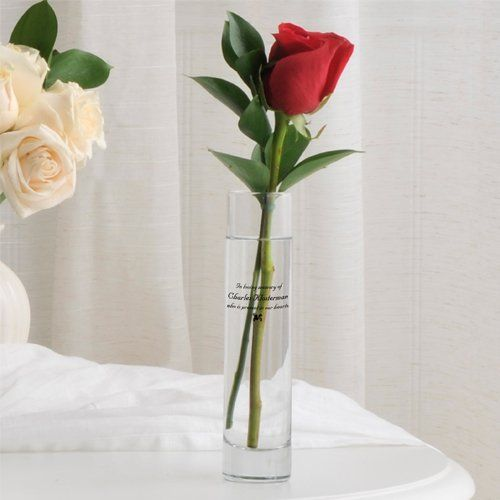 Memorial Vase For Only 3439 You Save 2230 39 Bud Vases