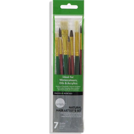 Arts Crafts Sewing Brush Set Natural Hair Styles Artist Brush