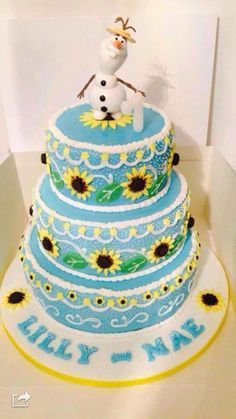 frozen fever cake - Google Search