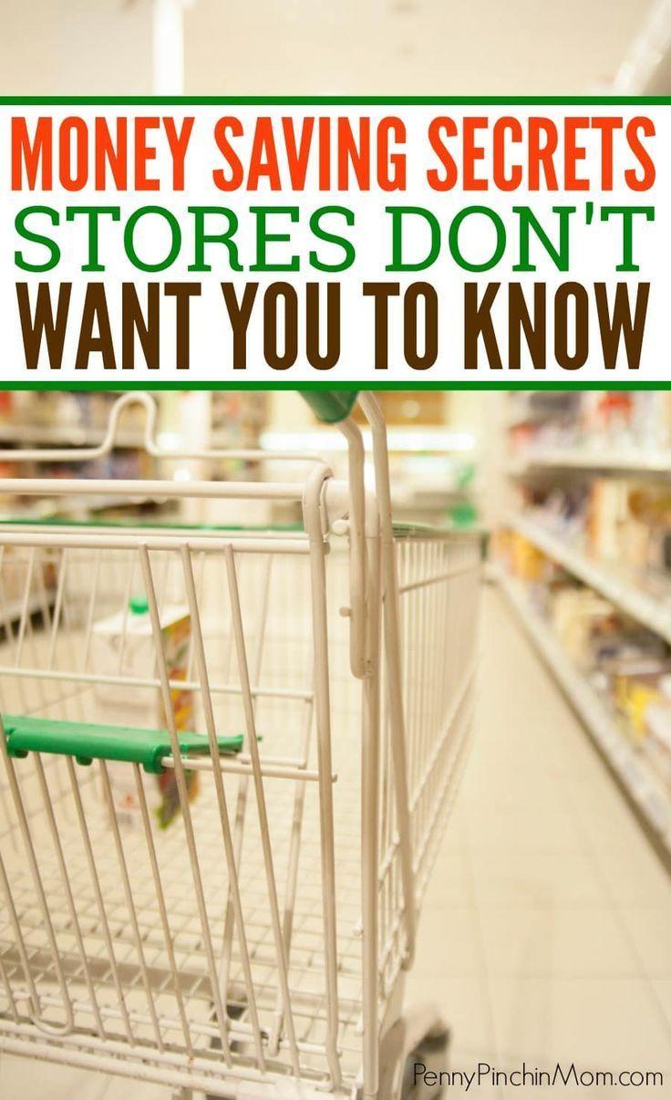 The Money Saving Secrets Stores Won't Tell You Saving