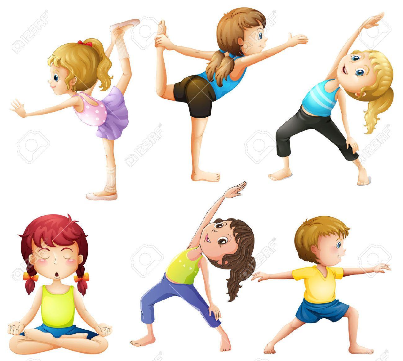 34041990-Frauen-praktizieren-Yoga-Posen-Lizenzfreie-Bilder.jpg ...