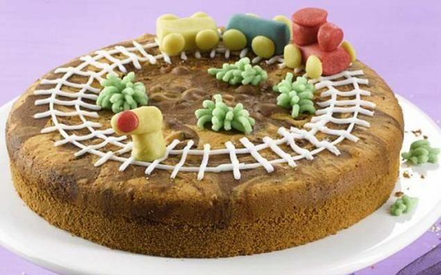 Eisenbahn Marmorkuchen Rezept Marmorkuchen Rezept Lebensmittel Essen Marmorkuchen