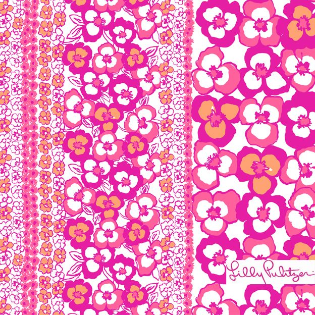 Lilly Pulitzer Spring '13 Multi Pansy Dance Print Shop